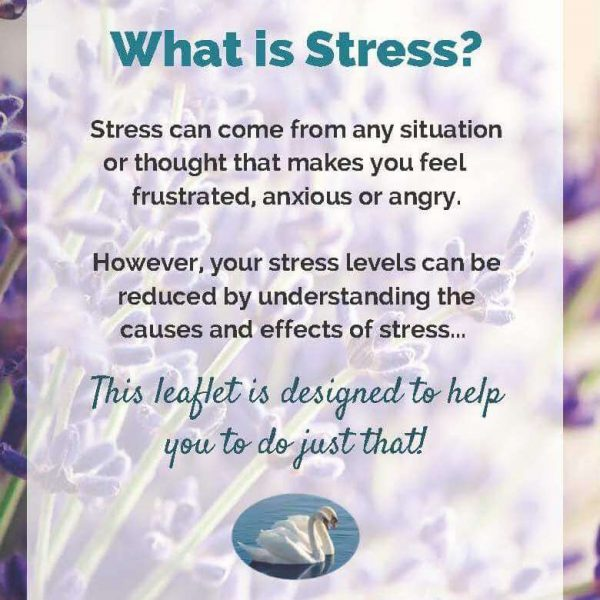 Anti-Stress Info Sheet